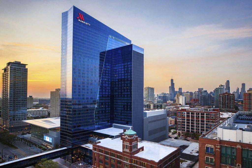 Marriott Marquis Chicago, un hotel impactante e inspirador