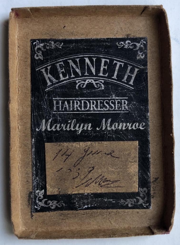 monroes2 756x1024 - Un mechón de Marilyn Monroe sale a subasta por 16,500 dólares