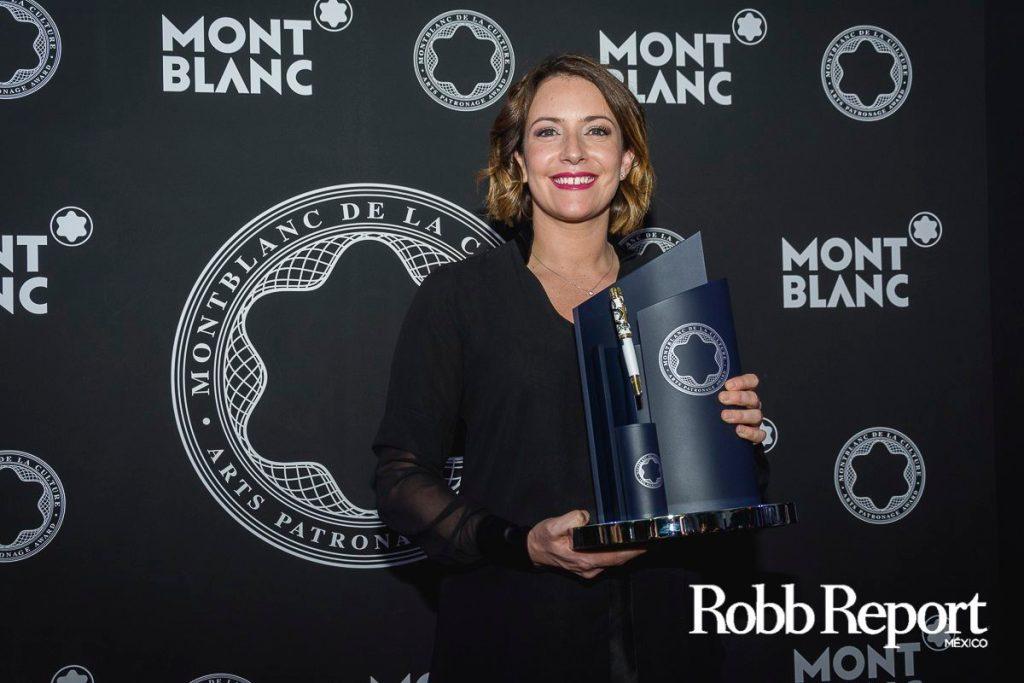 Montblanc premia a la mexicana Alondra de la Parra