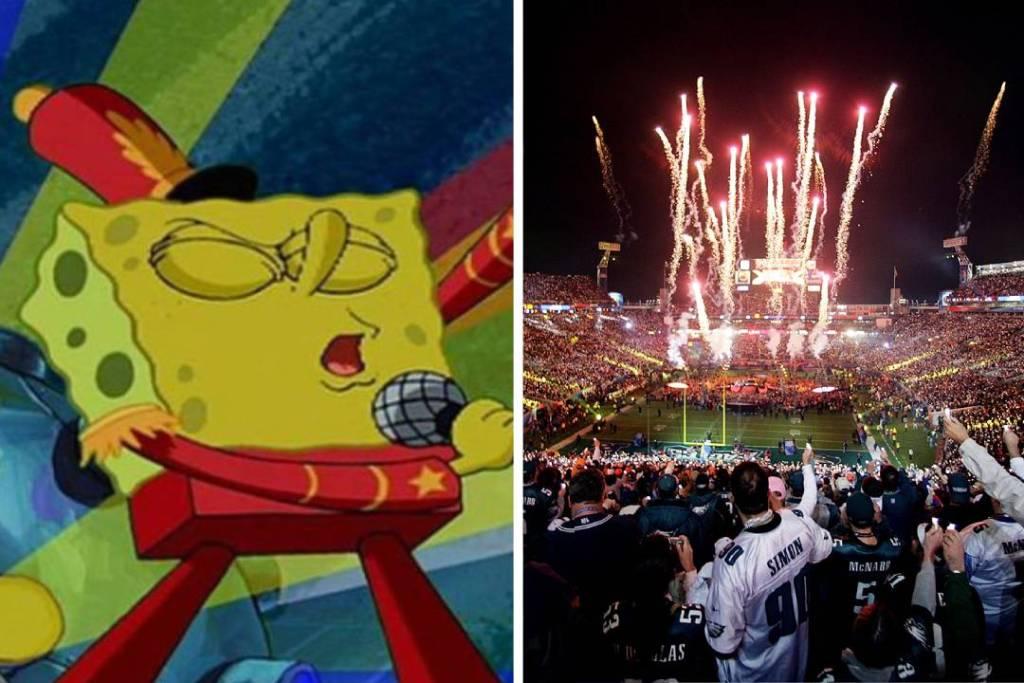 ¿Reviviremos este momento de Bob Esponja en el Super Bowl LIII?