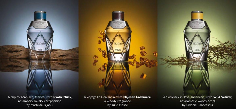 o.76840 - Bentley Beyond, la colección de tres perfumes unisex que te harán oler rico