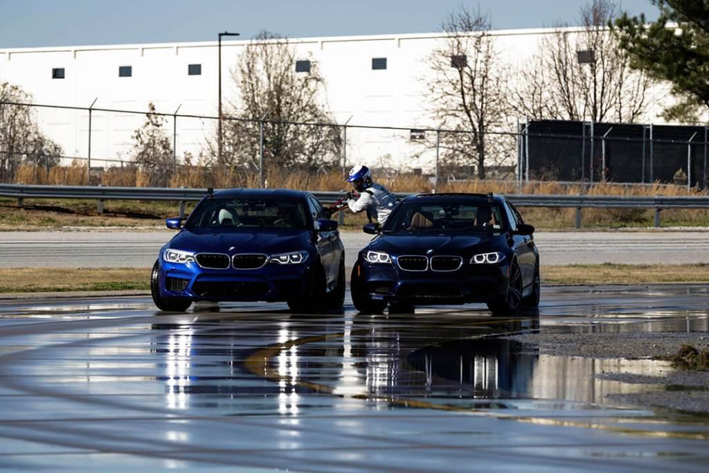 Así es como el BMW M5 obtuvo el récord por el derrape más largo del mundo