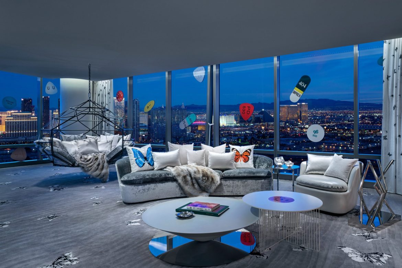 Palms Casino Resort Clint Jenkins 2019 Upstairs Living Room - Los 5 hoteles más caros del mundo y para todos los gustos