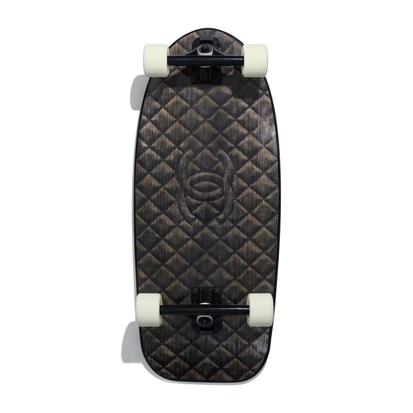 patineta channel - Moda para skateboys, Chanel lanza su nuevas tablas de skate y surf