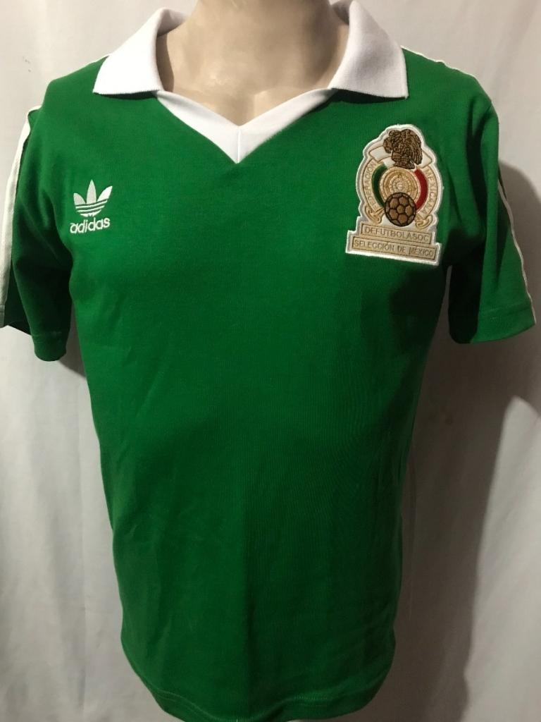 """playera retro seleccion mexicana de futbol mundial 1978 D NQ NP 649120 MLM27033700831 032018 F 768x1024 - Calificamos """"la verde"""" de cada Mundial, y nuestra favorita es..."""