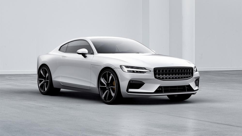 polestar 1 white exterior front - Top: Cinco autos que no podemos esperar a conducir en 2019