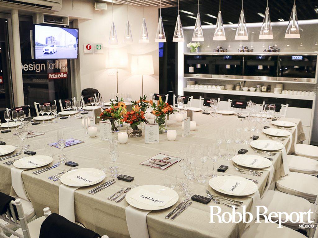 Así es una Cooking Experience estilo Robb Report México
