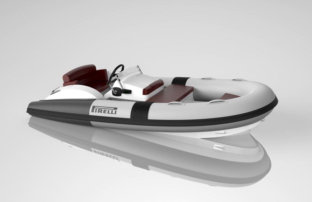 No es una llanta, es la nueva embarcación inflable de Pirelli