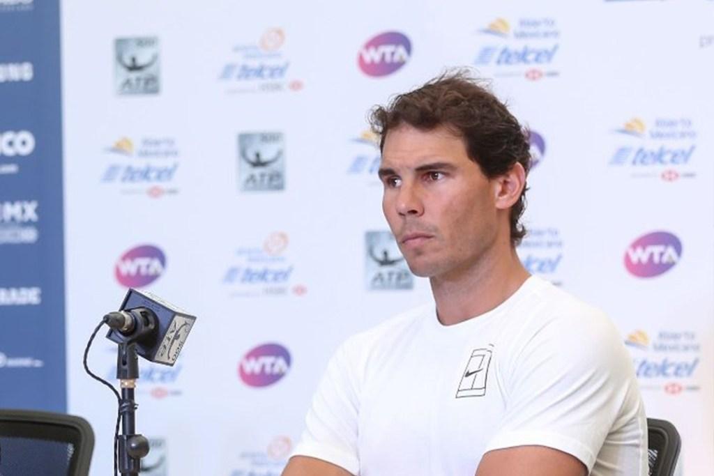 Esta es la razón por la que Rafael Nadal abandona el Abierto Mexicano de Tenis