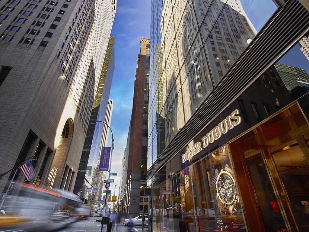 Roger Dubuis abre por primera vez una boutique en EU