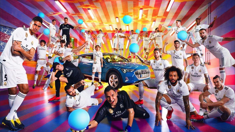real ima des - Audi regala autos al Real Madrid de una manera muy especial