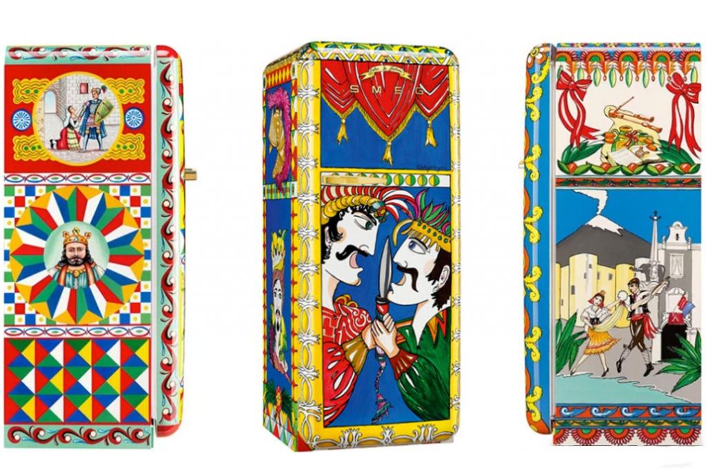Refrigerador 1024x683 - Los electrodomésticos de 50 mil dólares de Dolce & Gabbana ya están a la venta