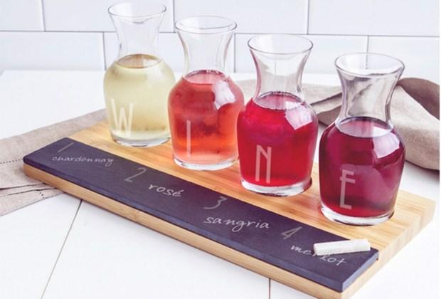 regalo tabla - Los regalos perfectos para los amantes del vino