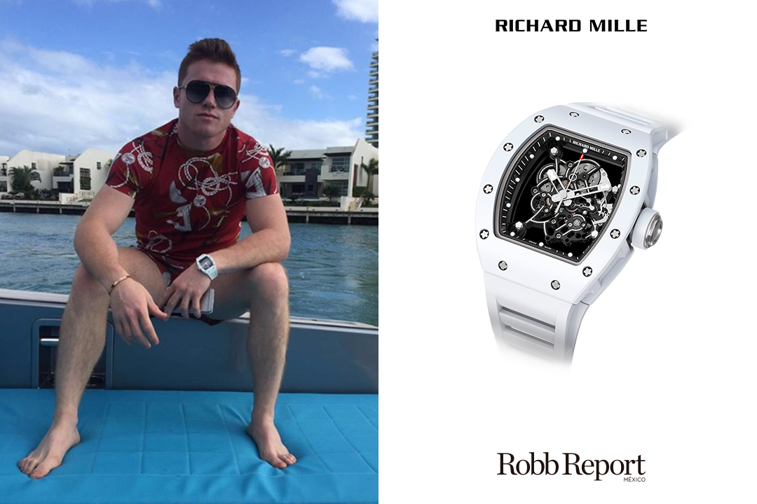RM Canelo - Conoce los extravagantes relojes que usa Saúl Canelo Álvarez