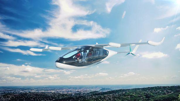Rolls Royce unveils flying taxi - ¡Abróchate el cinturón! Rolls-Royce nos podría llevar hasta las nubes en el 2020