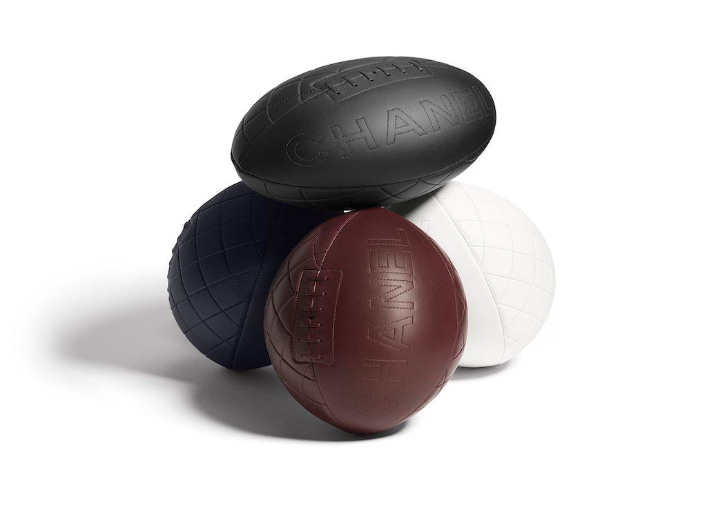 Chanel lanza balón para la Copa Mundial de Rugby