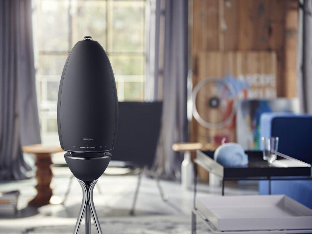 Samsung Wireless Audio, una bocina con 360 grados de sonido