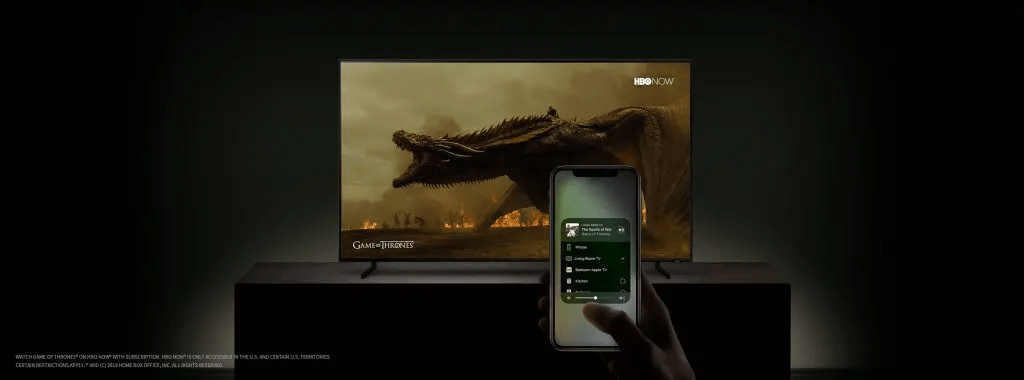 Samsung TVs will come with iTunes Movies TV Shows and AirPlay 2 1024x380 - El rumor es cada día más grande, ¿Apple lanzará su plataforma streaming este 25 de marzo?