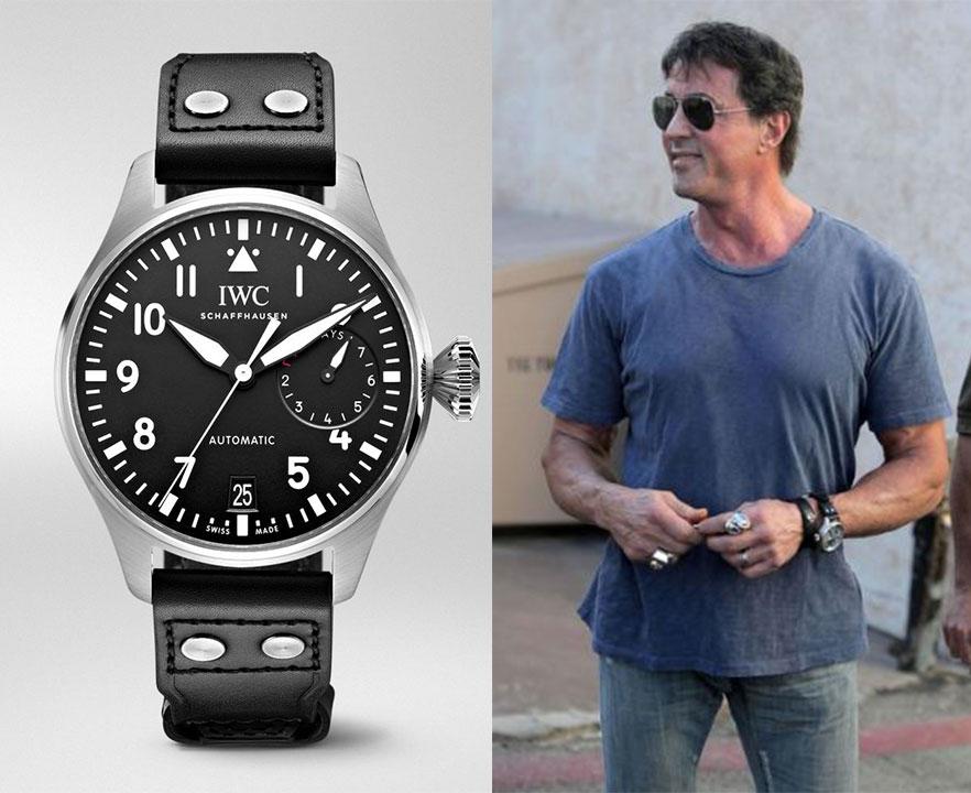 sly2 - Te presentamos cinco relojes que Sylvester Stallone tiene en su colección