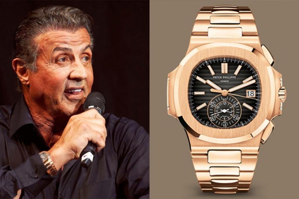 sly3 1 1024x683 - Te presentamos cinco relojes que Sylvester Stallone tiene en su colección