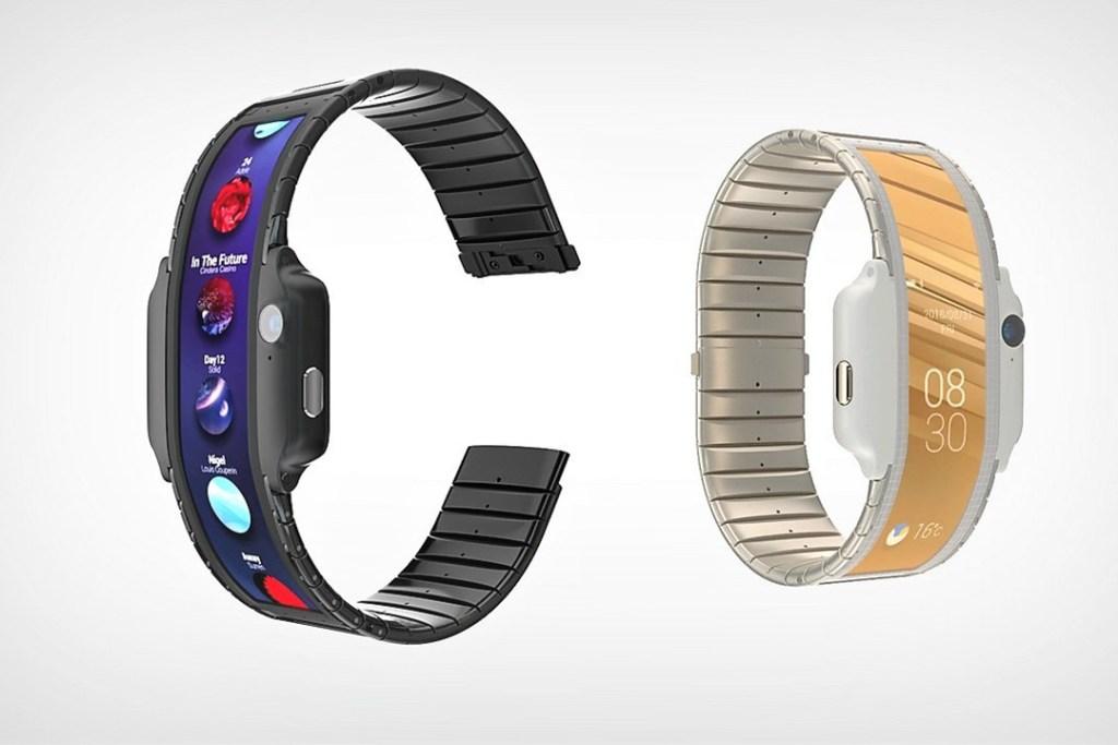 ¿Un smartphone con forma de smartwatch y flexible?