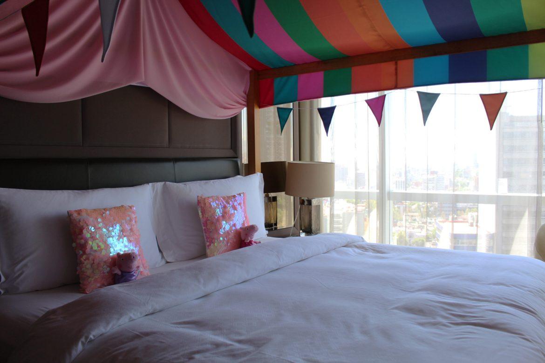 St. Regis cama - St. Regis Ciudad de México tiene una divertida Family Suite de Peppa Pig