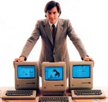 stevejobs 300x288 - A 35 años de que el mundo conoció la primera Macintosh