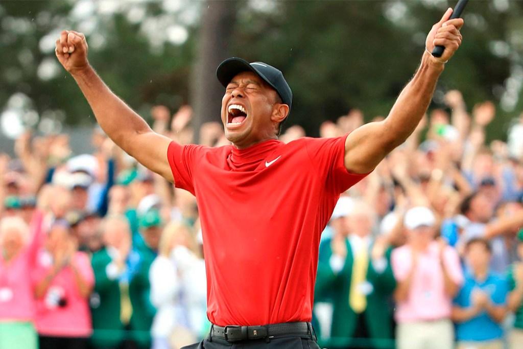 Este postor se hizo millonario tras la victoria de Tiger Woods