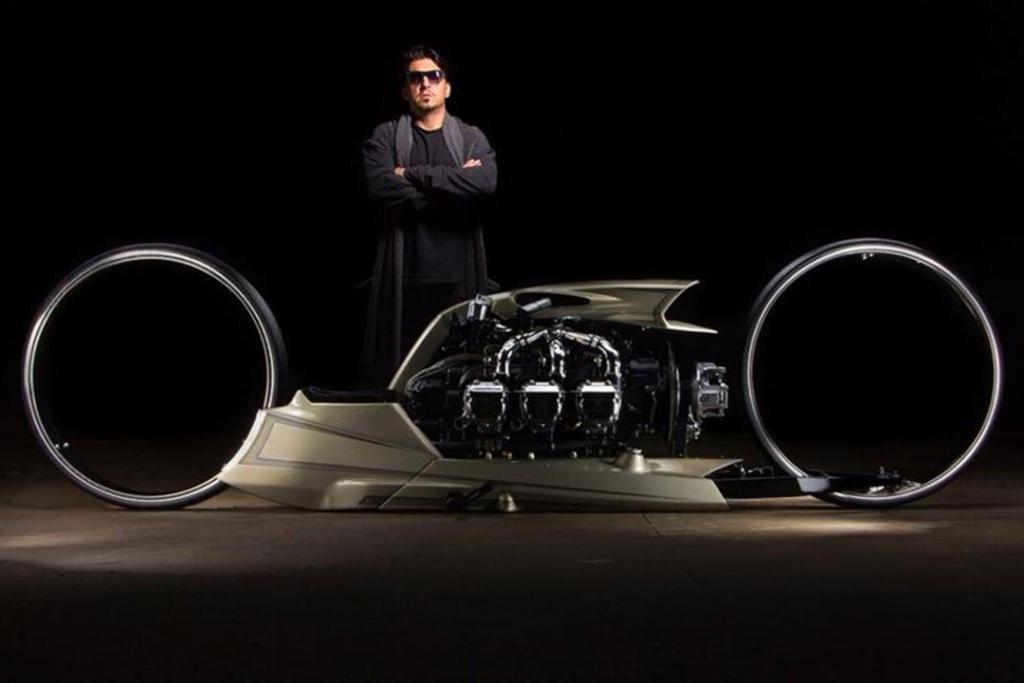 tmc1 1024x683 - No es un vehículo de Blade Runner, es una motocicleta con motor de avión