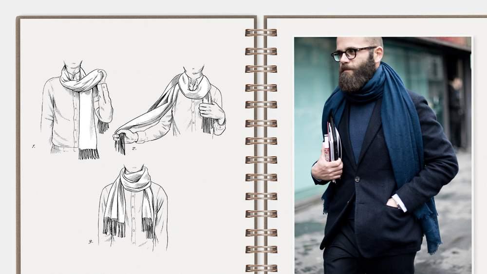 w1000 q65 - Te enseñamos nueve formas de usar tu bufanda este otoño