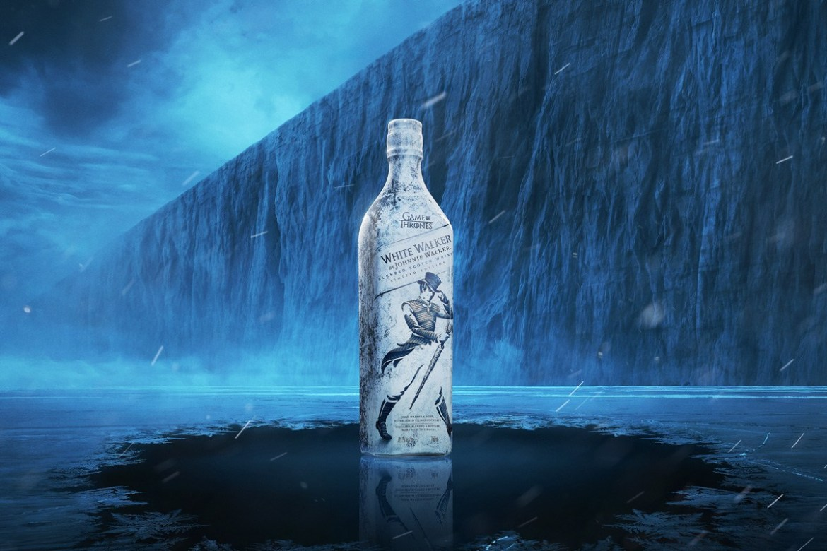 White Walker Whisky Game Of Thrones - La euforia de la última temporada de Game Of Thrones quedó plasmada en estas marcas