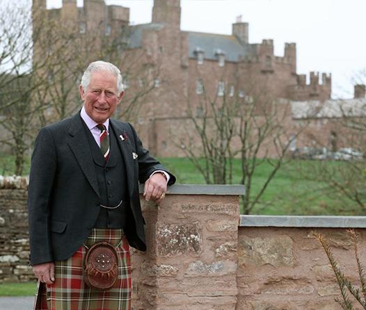 El príncipe Carlos ofrece una experiencia real en el castillo de Mey
