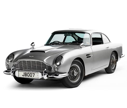 Aston Martin prepara 25 autos de colección de James Bond