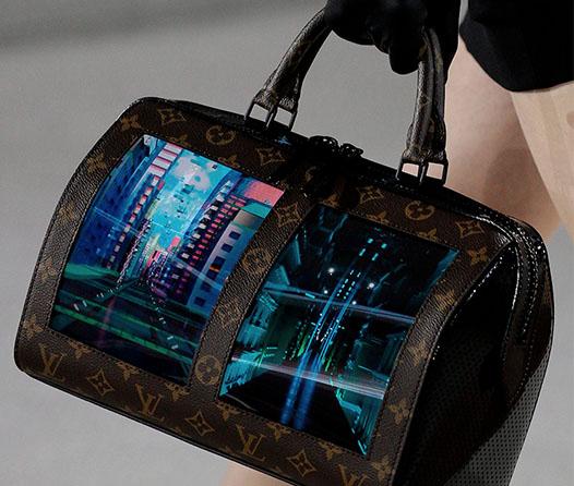 El futuro de los bolsos con pantallas es de Louis Vuitton