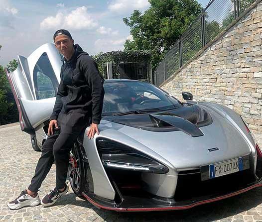 El nuevo juguete de Cristiano Ronaldo es un McLaren Senna