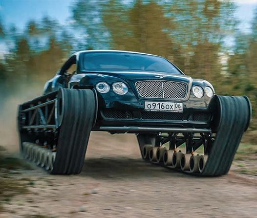 Ultratank, un Bentley de guerra para una batalla de lujo