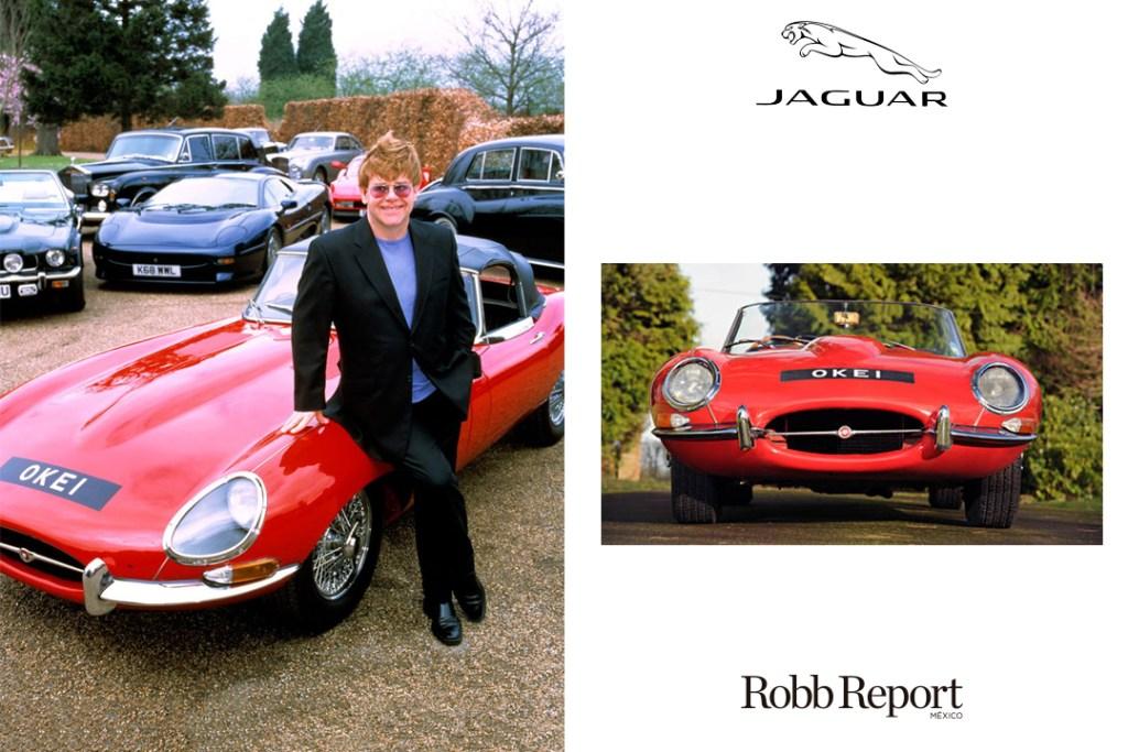 Elton John Jaguar e-type