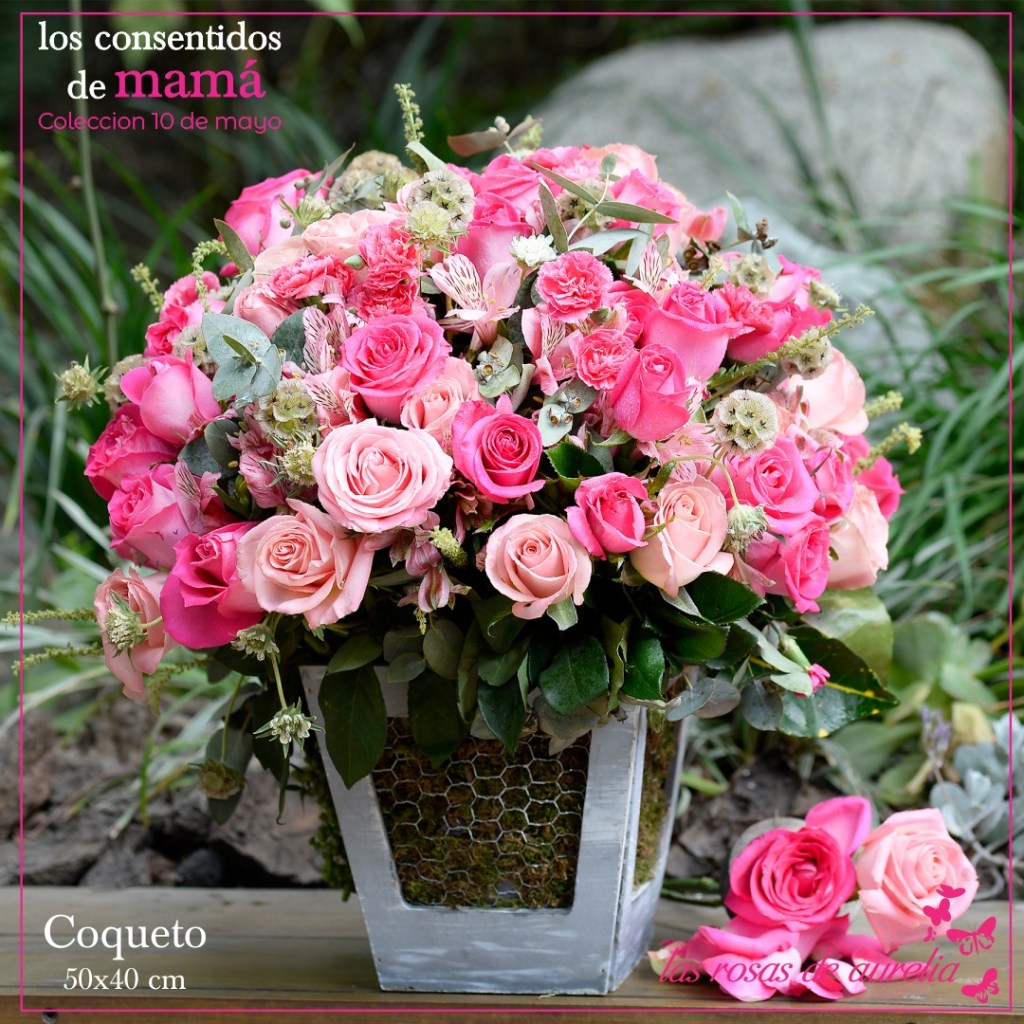 Las Rosas De Aurelia Las Flores Que Encantarán A Tu Mamá