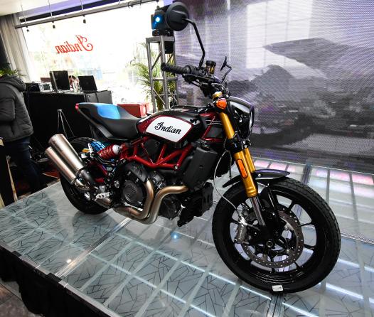 Ha llegado FTR 1200 la nueva motocicleta Flat Track para las calles