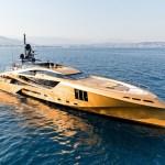 Ha llegado Khalilah a Ibiza, el barco hecho con 100 toneladas de oro