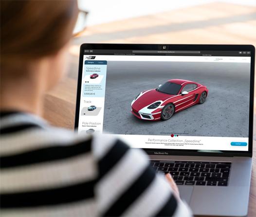 ¡Ya puedes personalizar la carrocería de tu Porsche por Internet!
