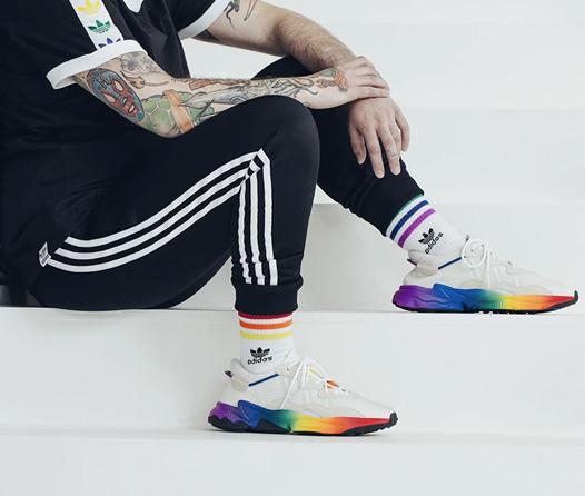 Corre sobre el arcoíris con la nueva colección Pride Pack de Adidas