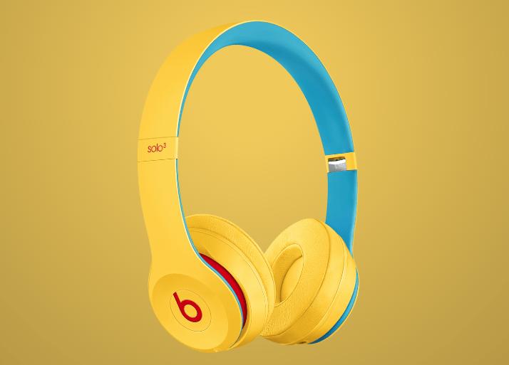Beats Solo3 Wireless Club Yellow