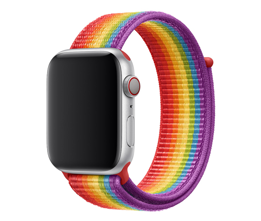 Apple se suma al Pride con una nueva correa arcoíris para el Apple Watch