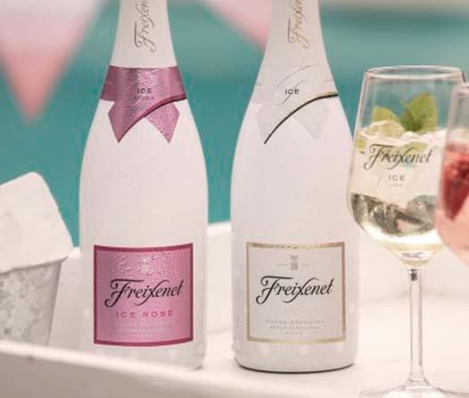 Freixenet presenta un vino diseñado para beberse con hielo