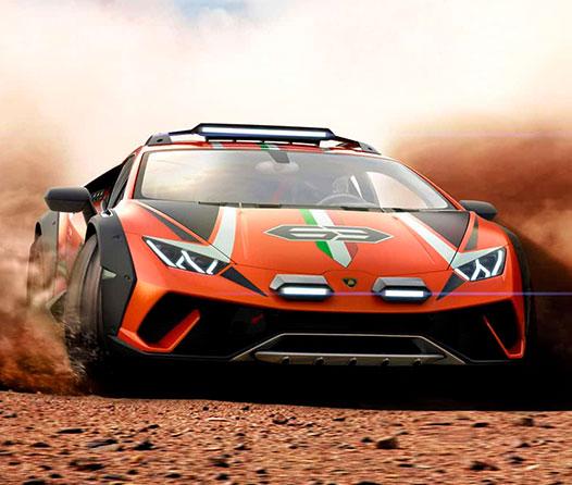 Así se vería el superdeportivo todoterreno de Lamborghini
