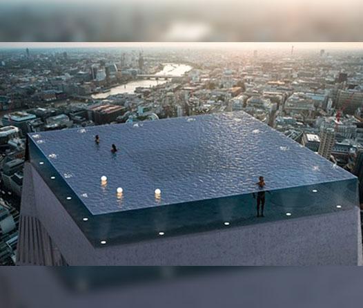 El último piso de este edificio será una infinity pool