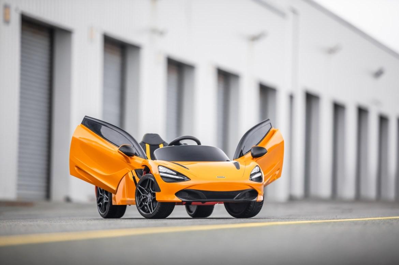 Puertas diédricas McLaren 720s Ride-On
