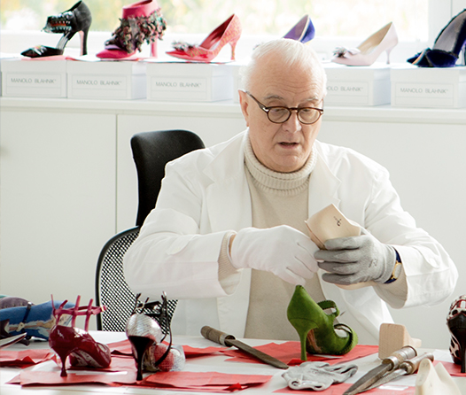 Manolo Blahnik, el hombre con los mejores zapatos del mundo
