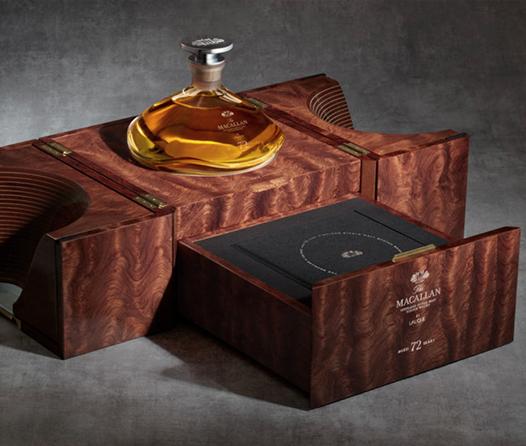 The Macallan 72 años, el whisky de 60 mil dólares, llega a México